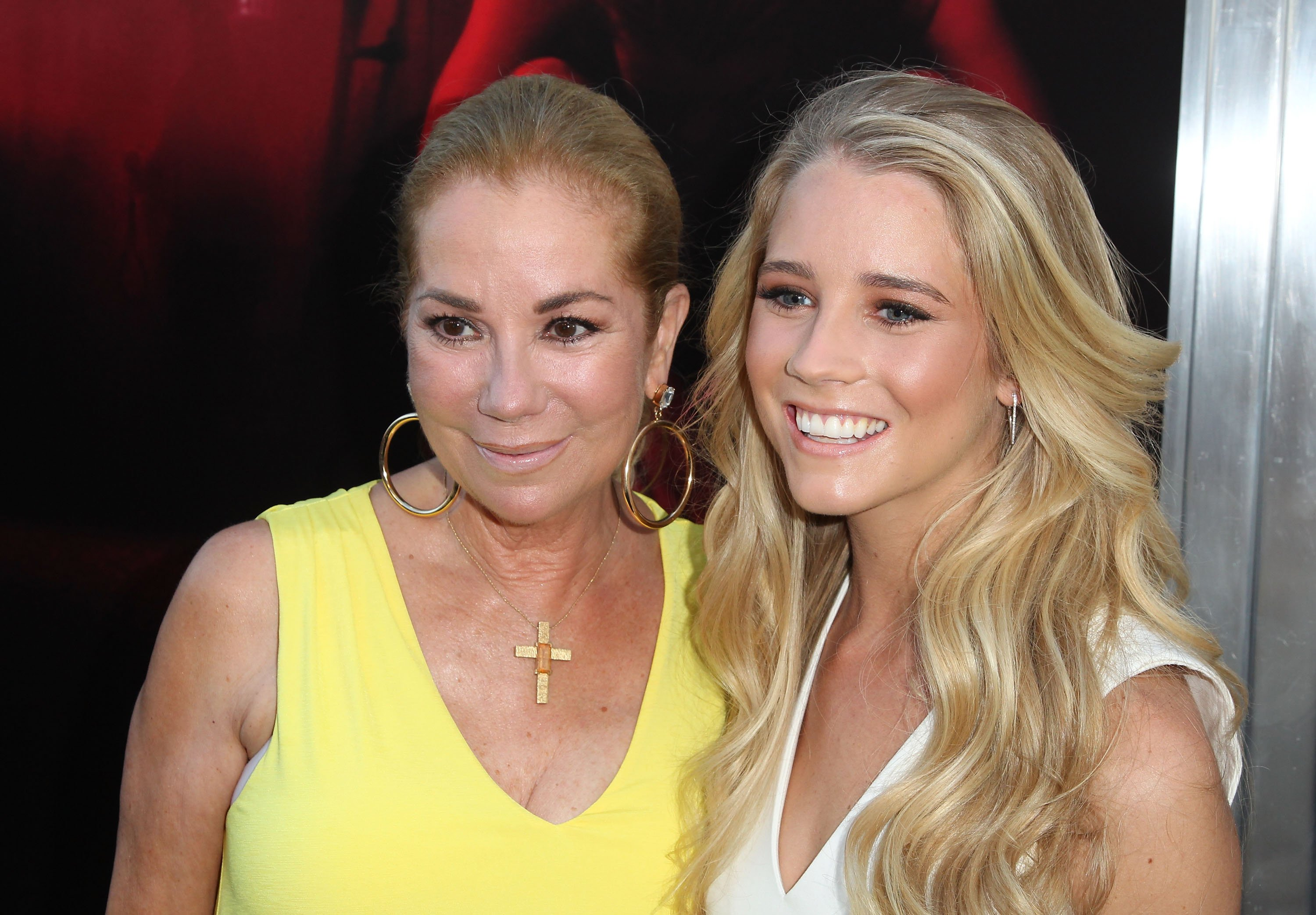 "Image Credits: Getty Images / David Buchan | Kathie Lee Gifford and Cassidy Gifford attend New Line Cinema's Premiere Of ""The Gallows"" at Hollywood High School on July 7, 2015 in Los Angeles, California."