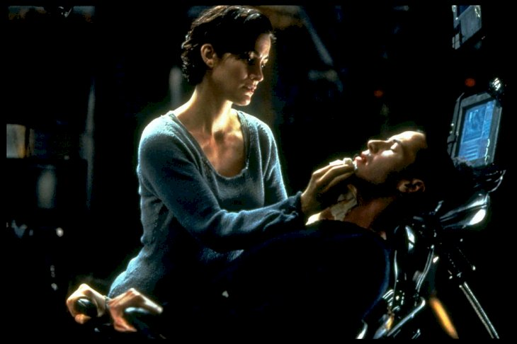 Image Credit: Getty Images/Sygma via Getty Images/Sygma/Ronald Siemoneit |Carrie-Anne Moss and Keanu Reeves in The Matrix