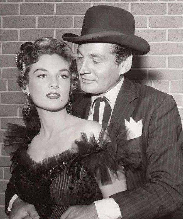 Image Source: Wikimedia Commons| Allison with Gene Barry in Bat Masterson (1958)