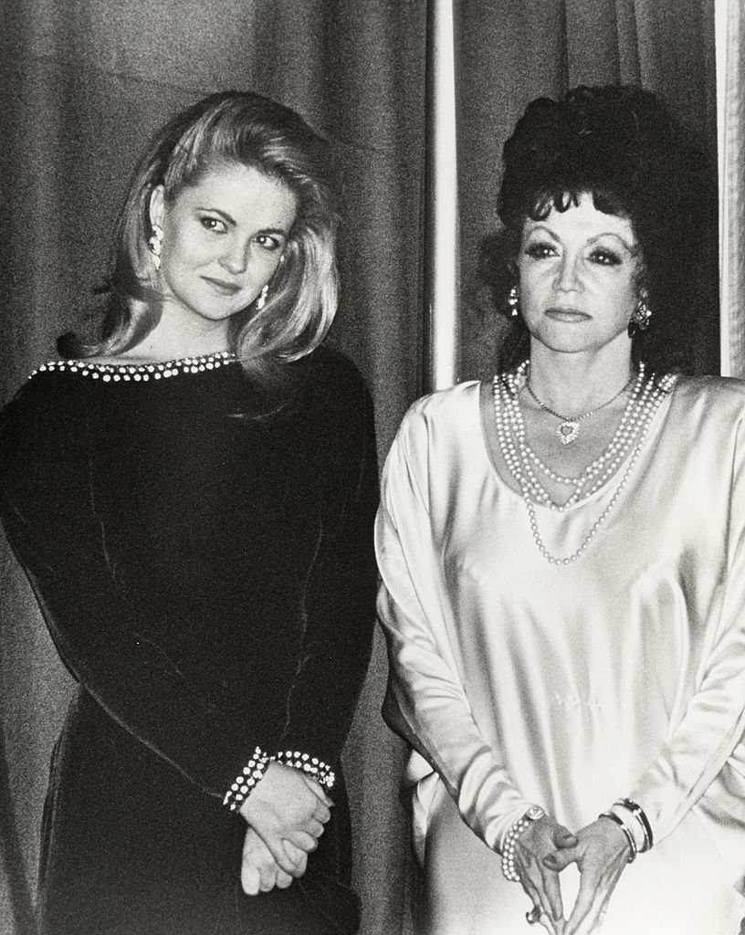 Image Credits: Getty Images / Ron Galella / Ron Galella Collection | Cornelia Guest and Jackie Stallone.