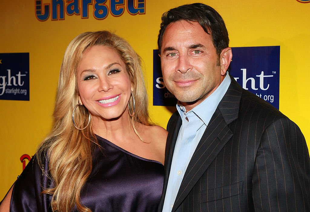"Image Credit: Getty Images / TV personality Adrienne Maloof (L) and husband Dr. Paul Nassif attend Ringling Bros. & Barnum and Bailey & Starlight Children's Foundation's premiere of ""Fully Charged"" at Staples Center on July 21, 2011 in Los Angeles, California."