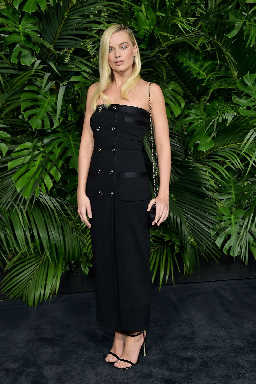 Margot Robbie attending Chanel's Oscar Party 2020/Photo:Getty Images