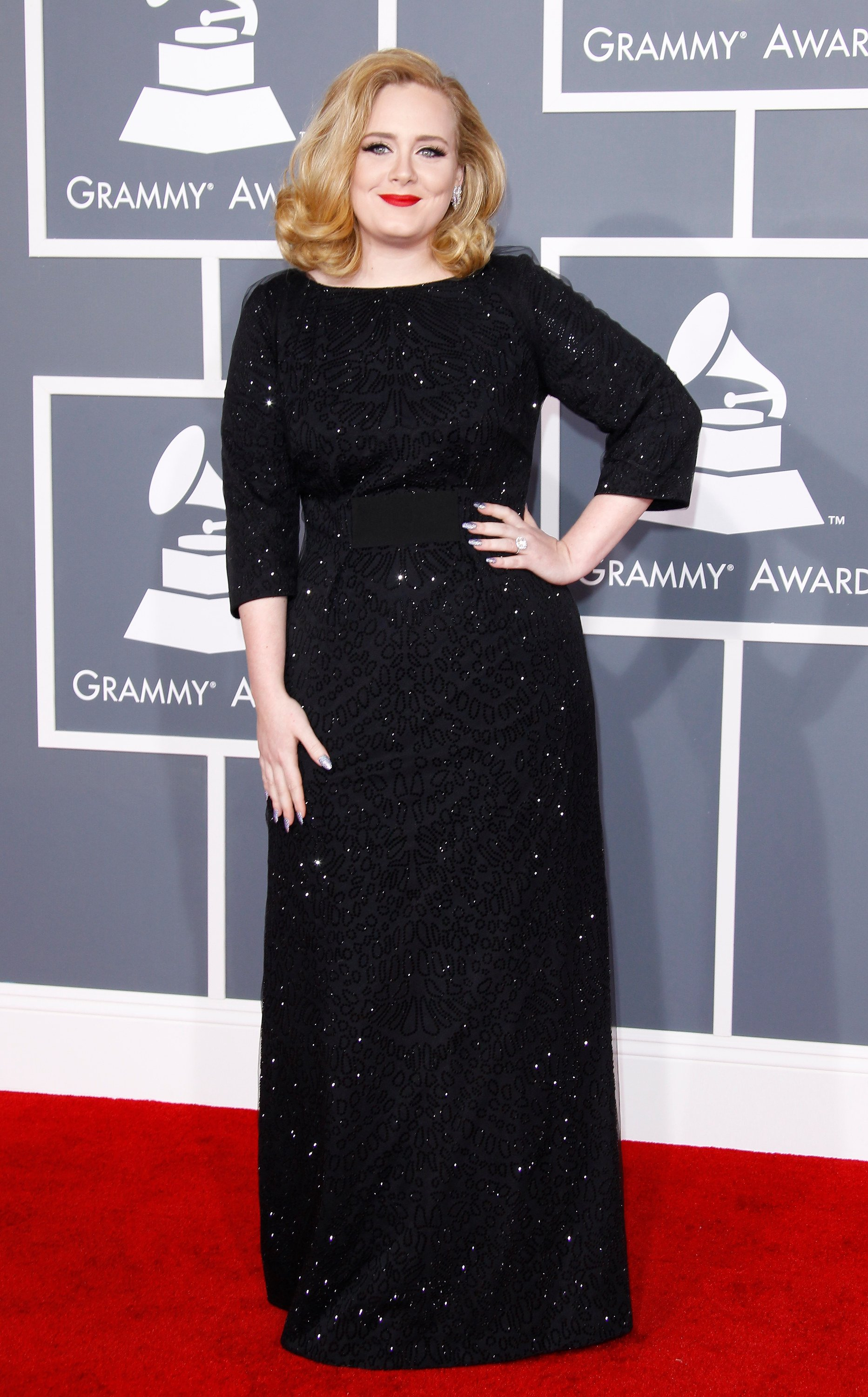 Image Credit: Getty Images / Adele at the Grammy Awards.
