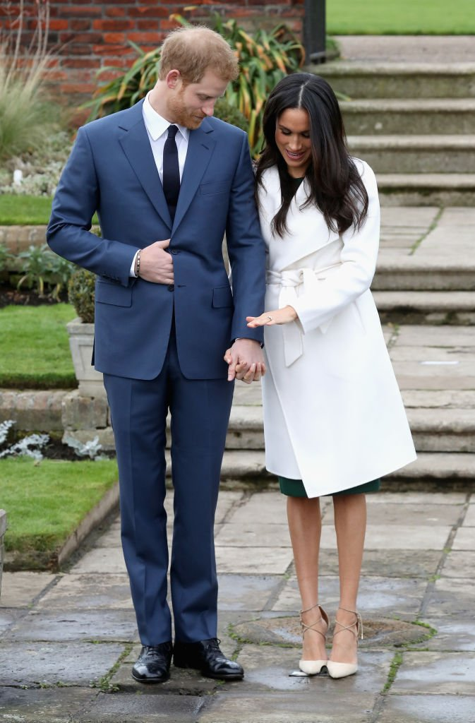 Image Source: Getty Images/Prince Harry and Meghan Markle