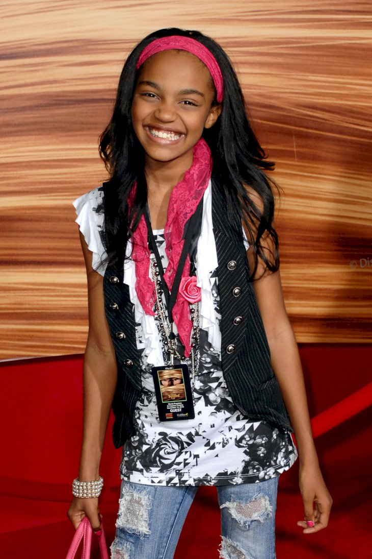 Image Credit: Getty Images/Patrick McMullan via Getty Images/ANDREAS BRANCH | China McClain attends TANGLED World Premiere at El Capitan Theatre
