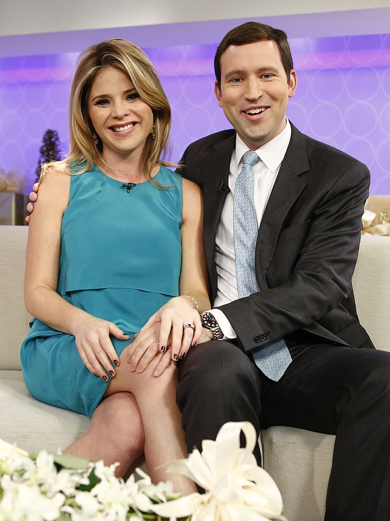 "Image Credits: Getty Images / Peter Kramer / NBC / NBC Newswire / NBCUniversal | Jenna Bush Hager and Henry Hager appear on NBC News' ""Today"" show."