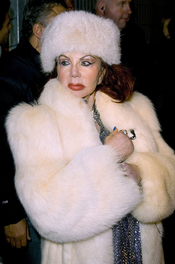 "Image Credits: Getty Images / Mike Marsland / WireImage | Jackie Stallone during ""Celebrity Big Brother III"" UK- Grand Finale at Elstree Studios in London, Great Britain."