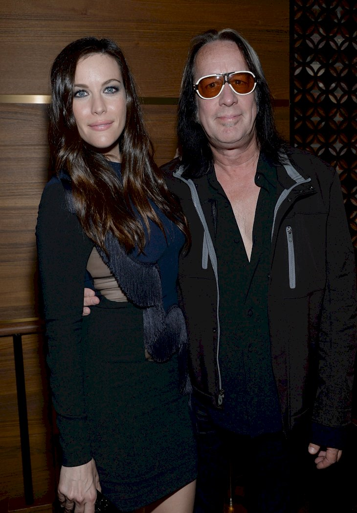 Image Credit: Getty Images / Liv Tyler with her birth father, Todd Rundgren.