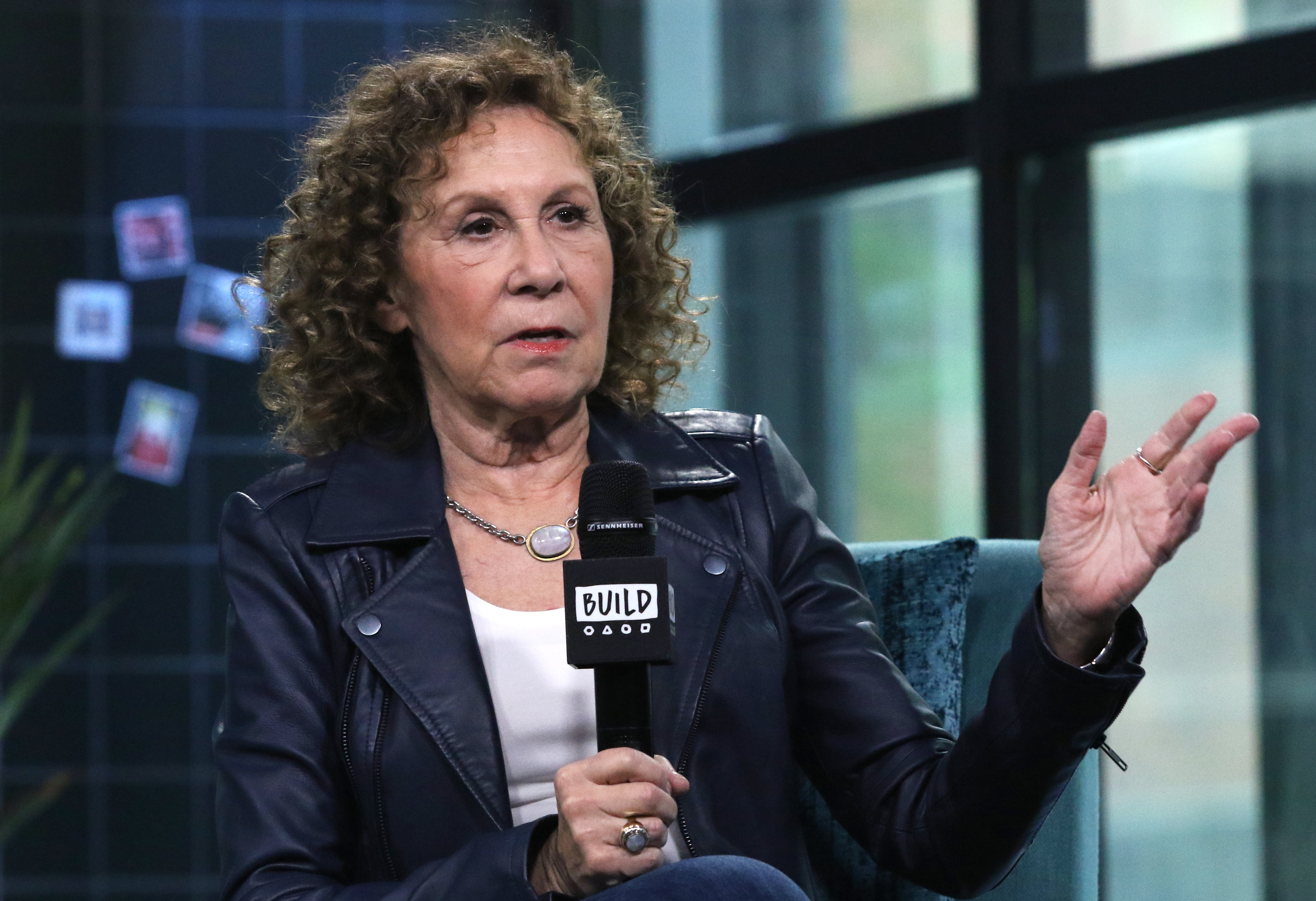 Image Source: Getty Images/Rhea Perlman in an interview