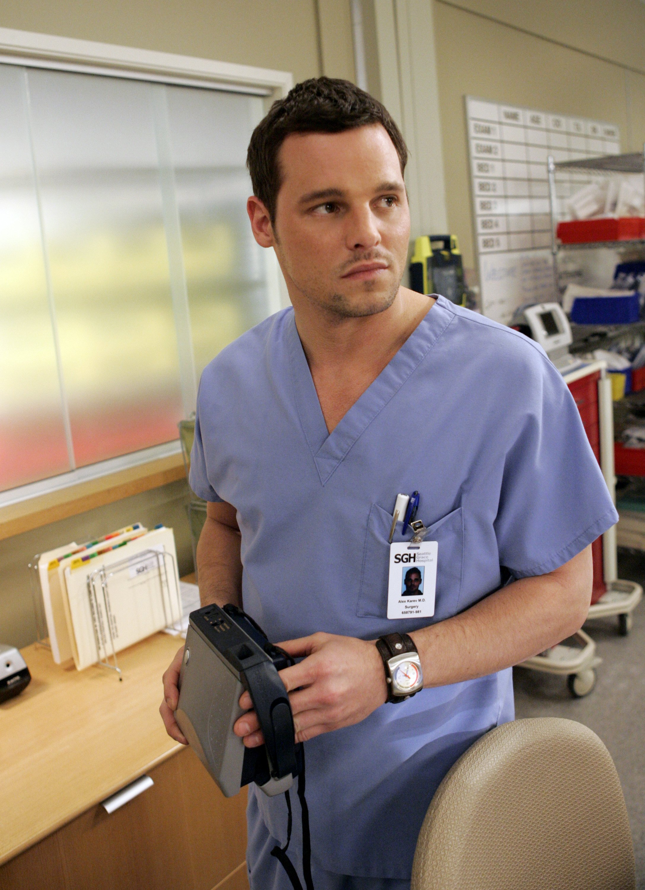 "Image Credits: Getty Images | Justin Chambers played Alex Karev for 15 years on ""Grey's Anatomy"""