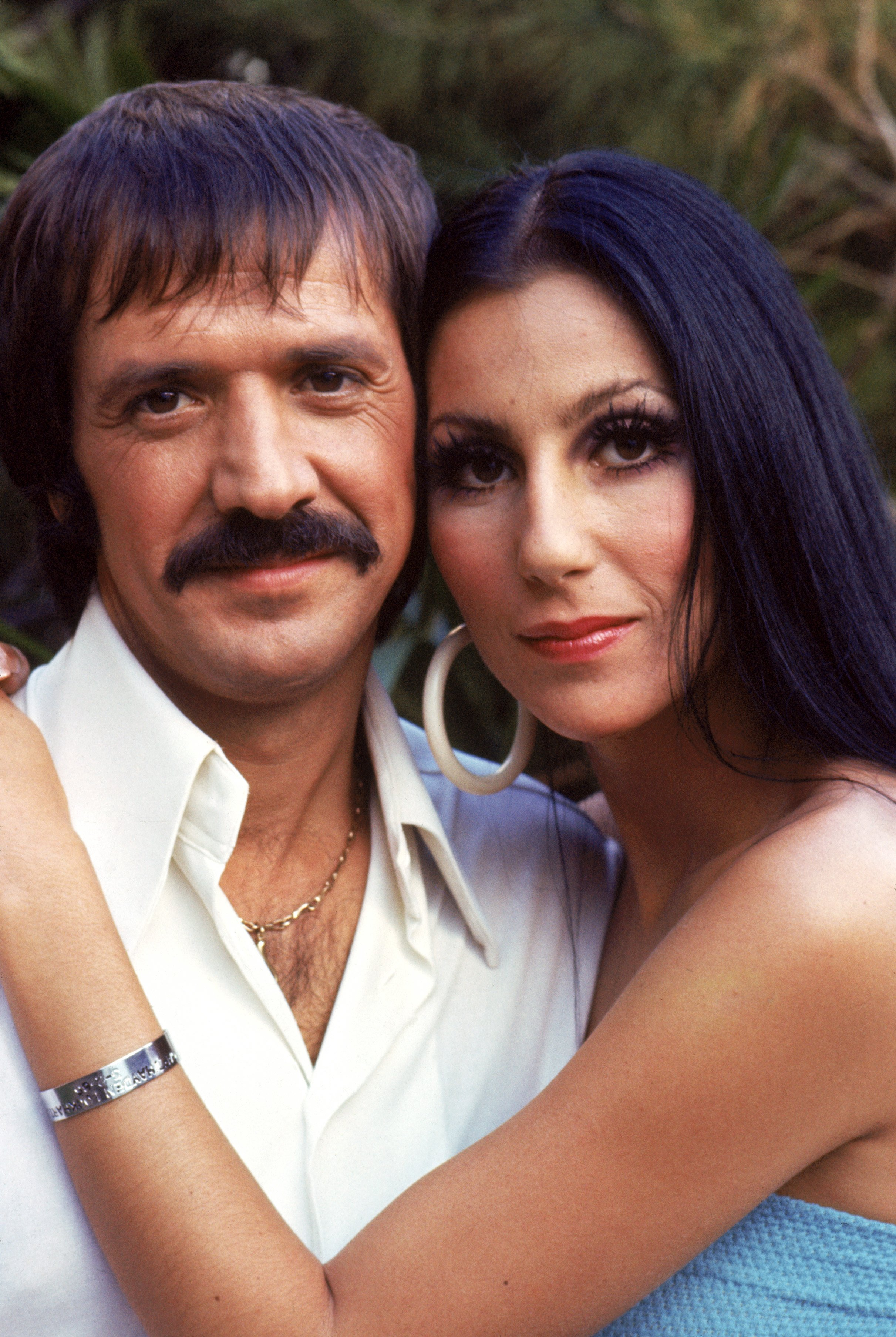 Image Source: Getty Images/ Cher and Bono