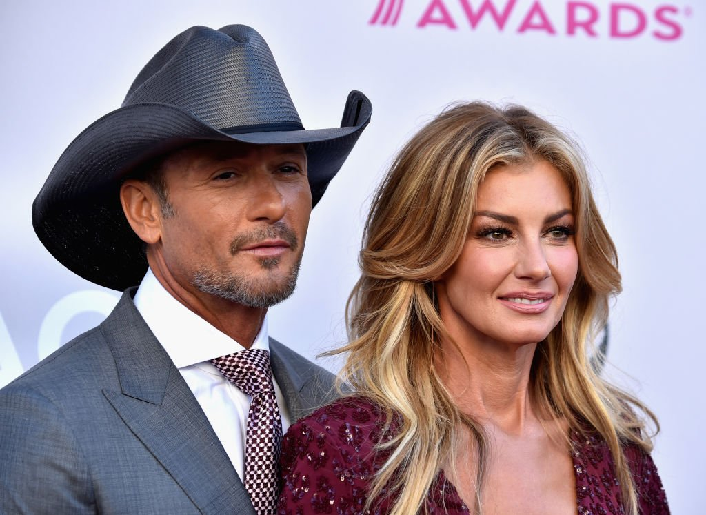 Image Credits: Getty Images / Frazer Harrison | Recording artists Tim McGraw (L) and Faith Hill attend the 52nd Academy Of Country Music Awards at Toshiba Plaza on April 2, 2017 in Las Vegas, Nevada.