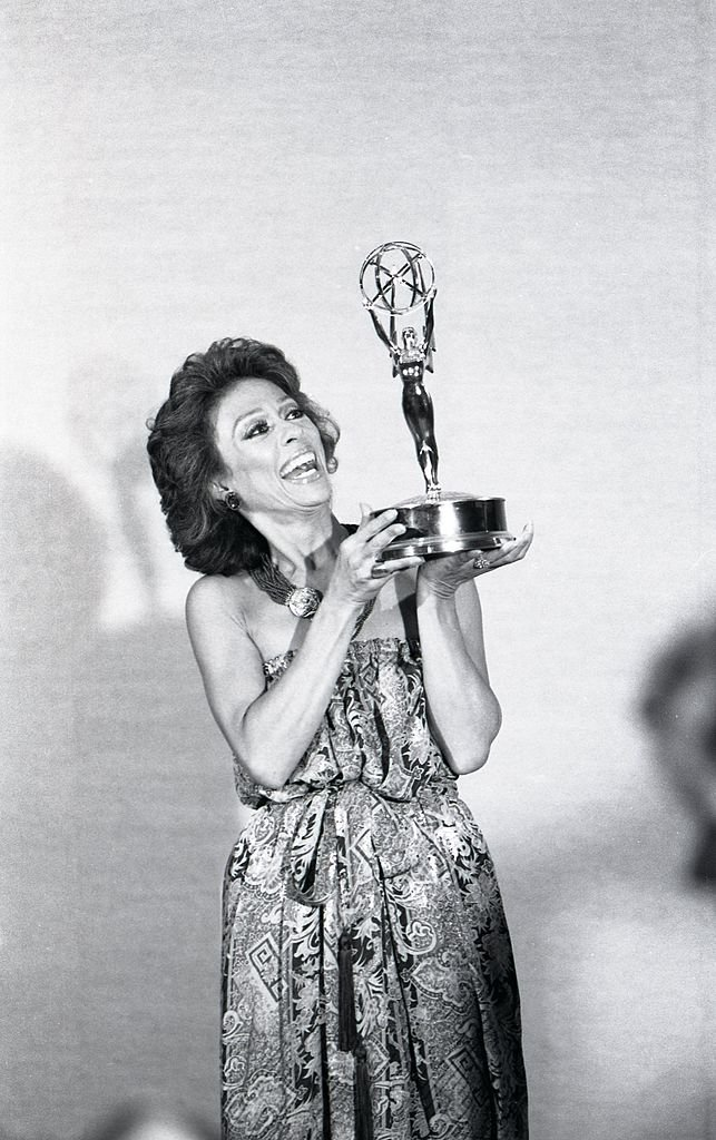 Image Credits: Getty Images / Joan Adlen | Rita Moreno posing with her Emmy in 1978