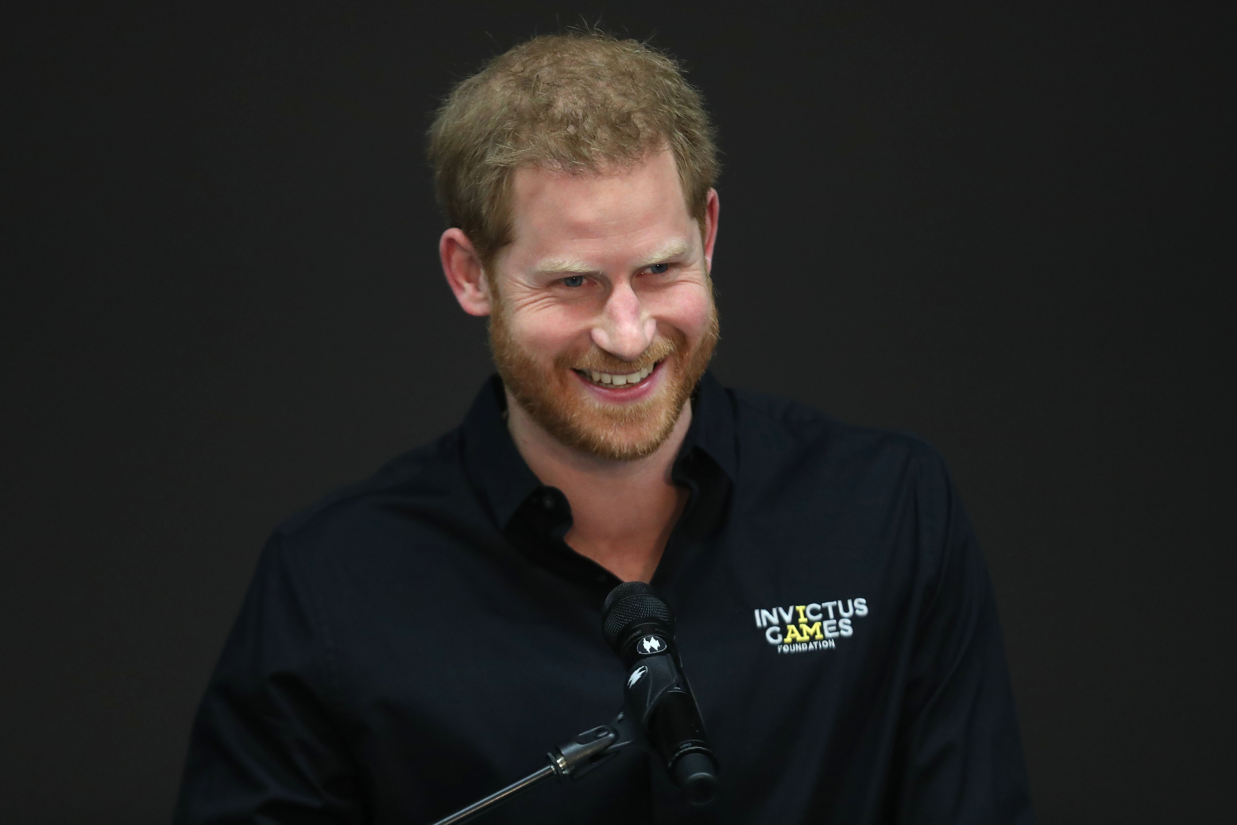 Image Credits: Getty Images | Prince Harry speaks at the Invictus Games.