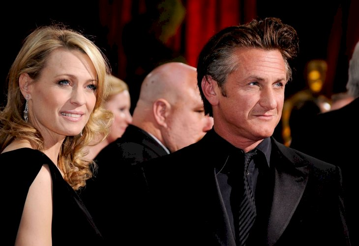 Sean Penn and Robin Wright/Photo:Getty Images