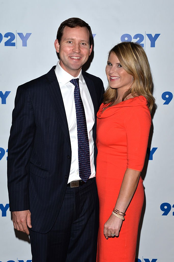 Image Credits: Getty Images / Andrew Toth / FilmMagic | Henry Chase Hager (L) and co-author Jenna Bush-Hager attend 92Y Talks: Laura Bush & Jenna Bush-Hager on May 11, 2016 in New York, New York.