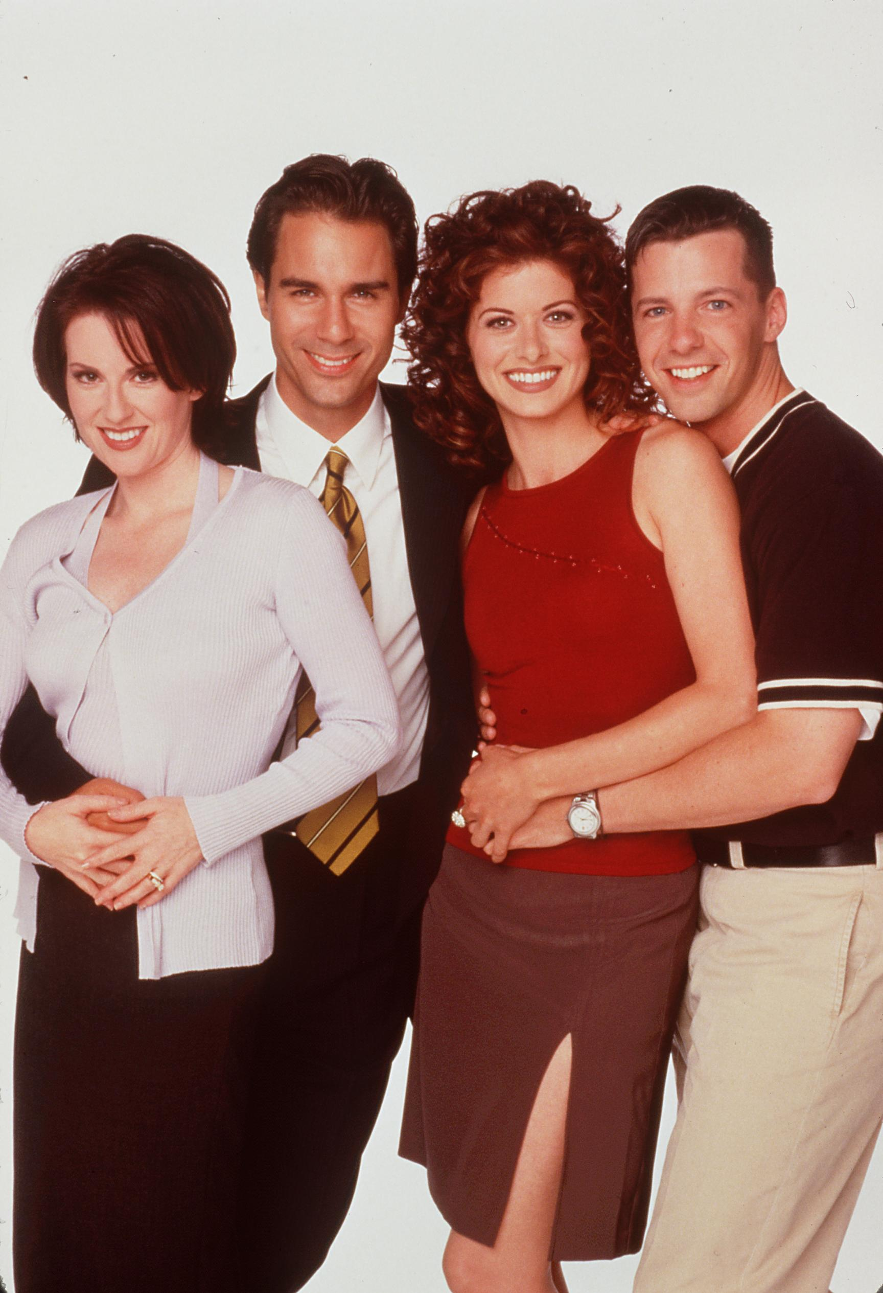 Image Source: Getty Images| A promotional photoshoot for Will & Grace