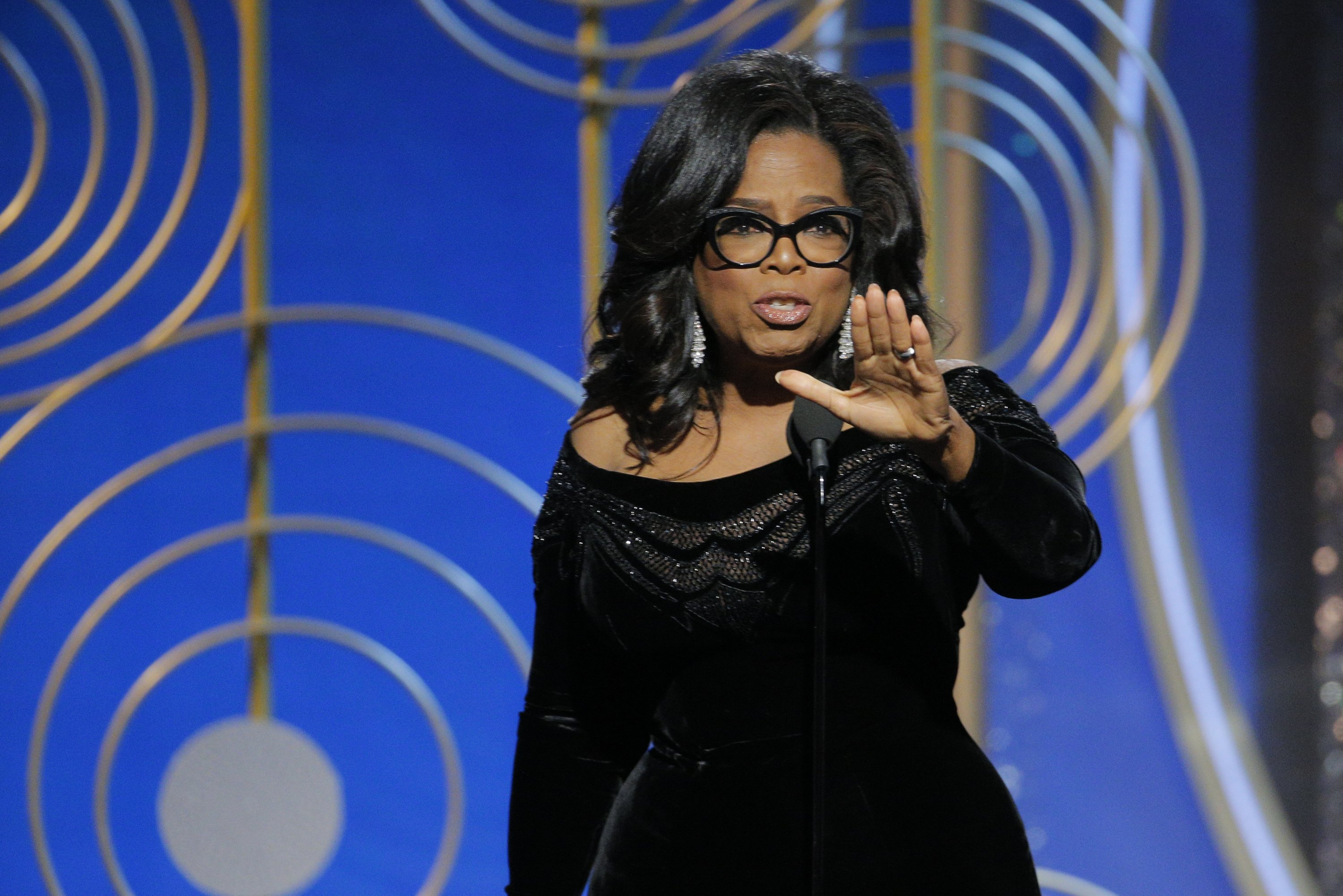 Oprah Winfrey Image Source: Getty Images.