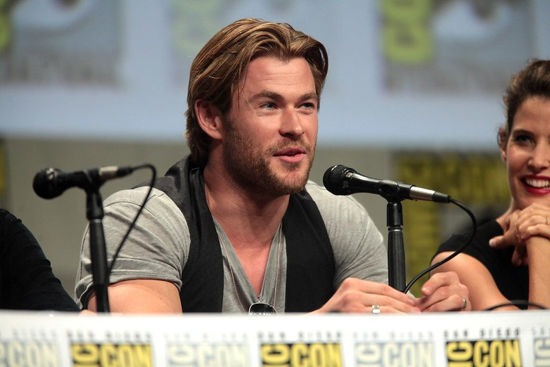 """Chris Hemsworth"" (CC BY-SA 2.0) / Gage Skidmore / flickr"