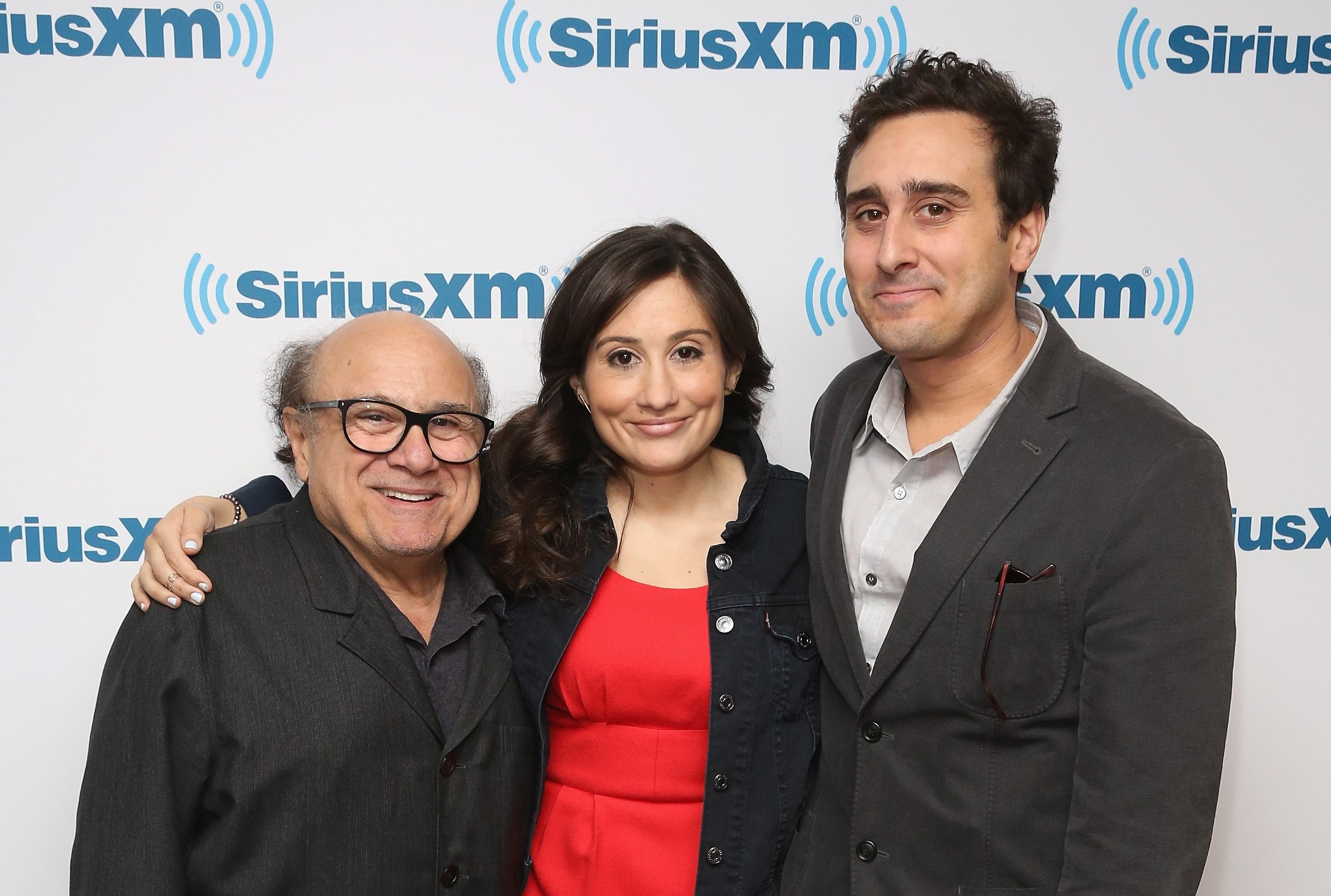 Image Source: Getty Images/Danny DeVito with his children