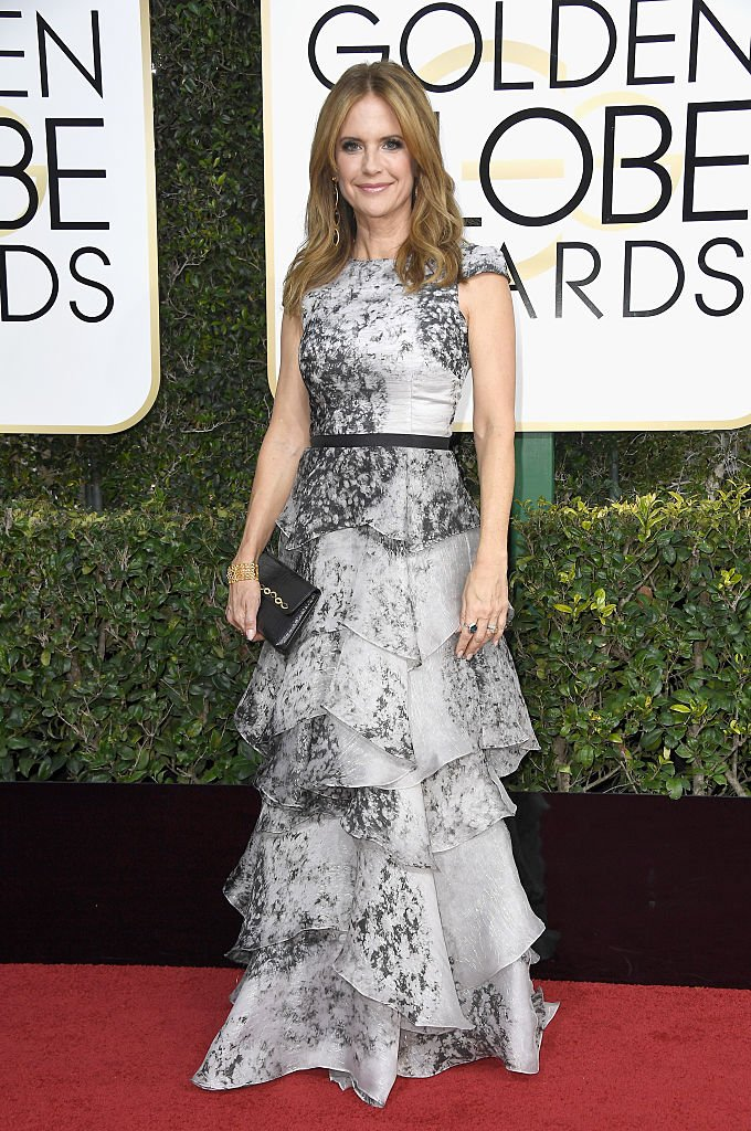 Image Source: Getty Images/Frazer Harrison/Actress Kelly Preston attends the 74th Annual Golden Globe Awards at The Beverly Hilton Hotel on January 8, 2017 in Beverly Hills, California