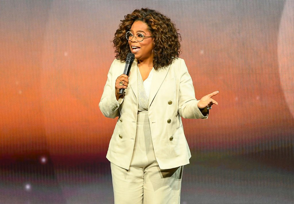 Image Credit: Getty Images / Oprah Winfrey speaks during Oprah's 2020 Vision: Your Life in Focus Tour presented by WW.