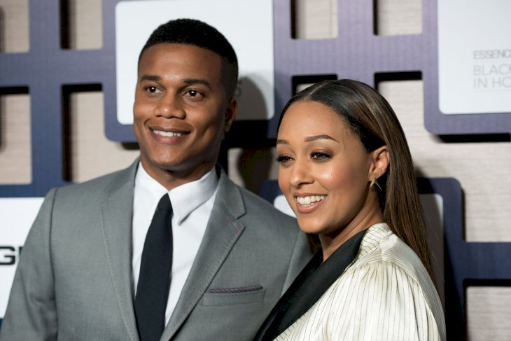 Image Credit: Getty Images / Tia Mowry with her husband, Cory Hardict.
