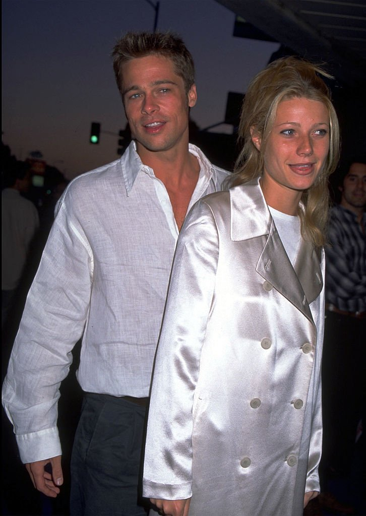Image Credits: Getty Images / Diane Freed | Brad Pitt and Gwyneth Paltrow.