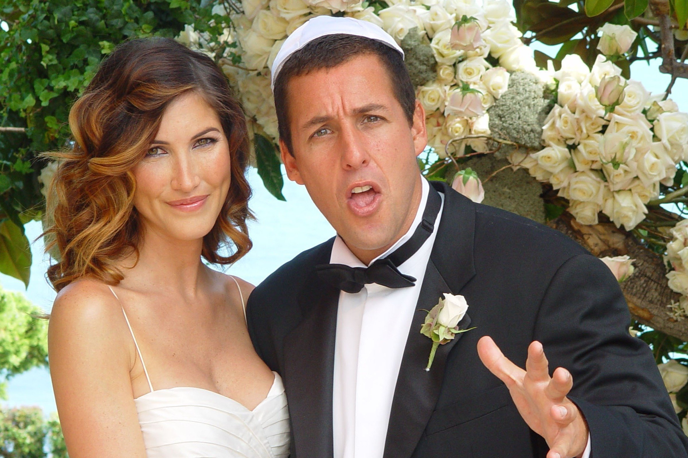 Image Credit: Getty Images/Nick Gossen Courtesy of AdamSandler.com | Photo from Sandler's wedding