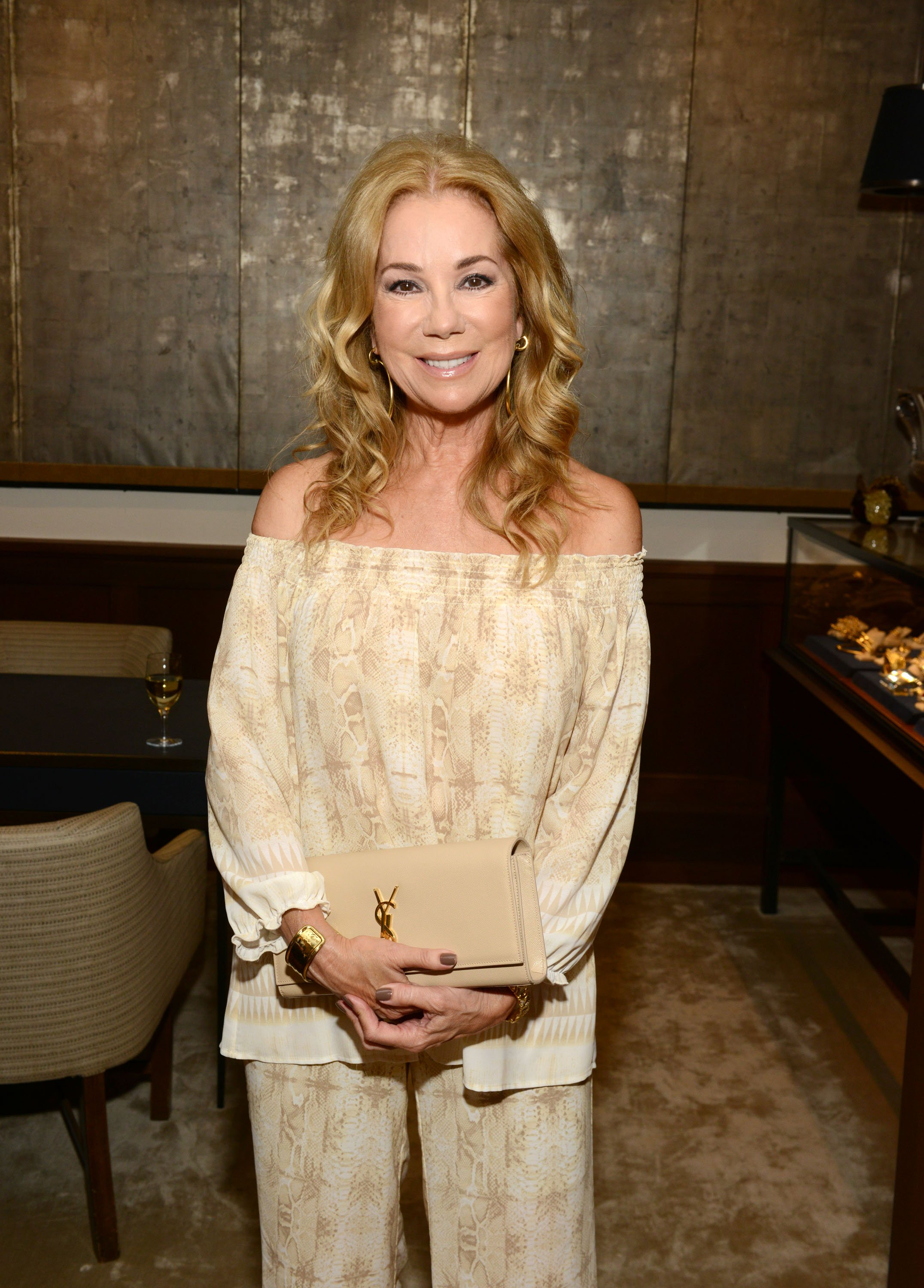 Image Credits: Getty Images / Noam Galai | Kathie Lee Gifford attends Changemaker cocktail reception at the 2016 Greenwich International Film Festival day 2 on June 10, 2016 at Betteridge in Greenwich, Connecticut.