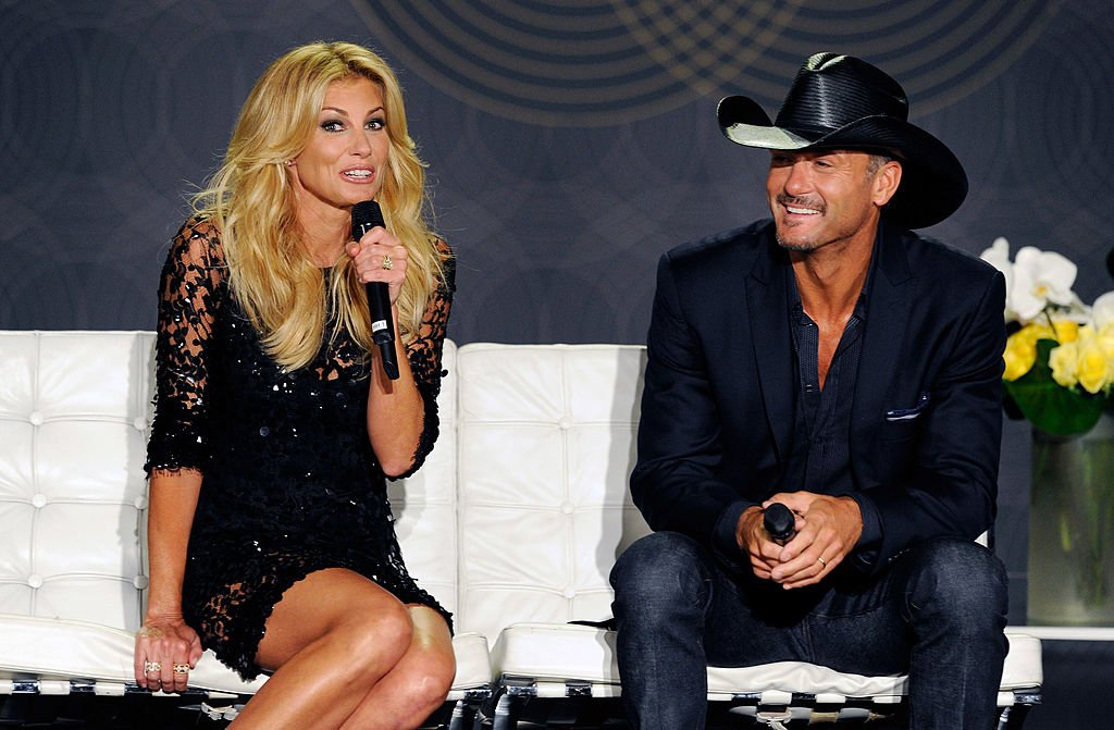 Image Credits: Getty Images / David Becker | Singers Faith Hill (L) and Tim McGraw appear at a news conference announcing their upcoming perfomances at The Venetian on August 7, 2012 in Las Vegas, Nevada.