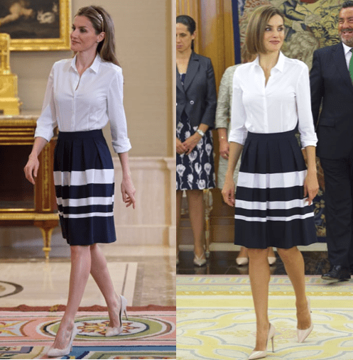 Getty Images: Getty Images/Fotonoticias | The stunning Queen Letizia of Spain is photographed by the press.