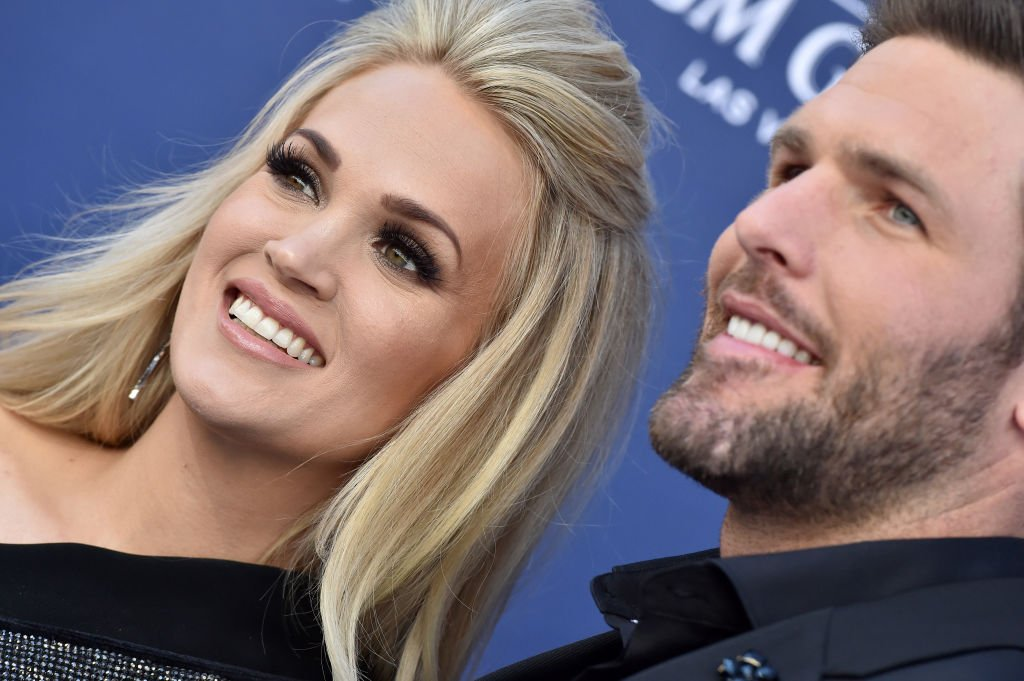Image Credit: Getty Images / Carrie Underwood and Mike Fisher attend the 54th Academy of Country Music Awards at MGM Grand Garden Arena on April 07, 2019 in Las Vegas, Nevada.