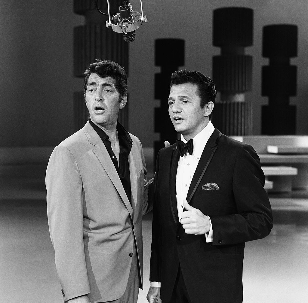 Image Credits: Getty Images | Buddy Greco with Dean Martin