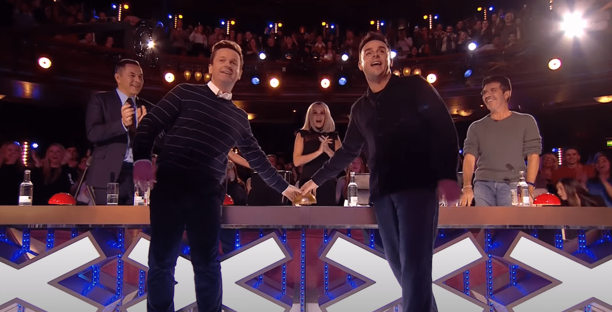 Image Source: Getty Image/Britain's Got Talent | A still from a golden buzzer episode of Britain's Got Talent