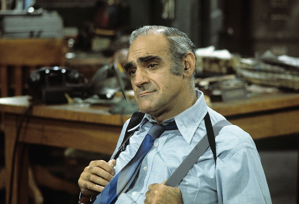 Image Credit: Getty Images / Abe Vigoda on set for Barney Miller.