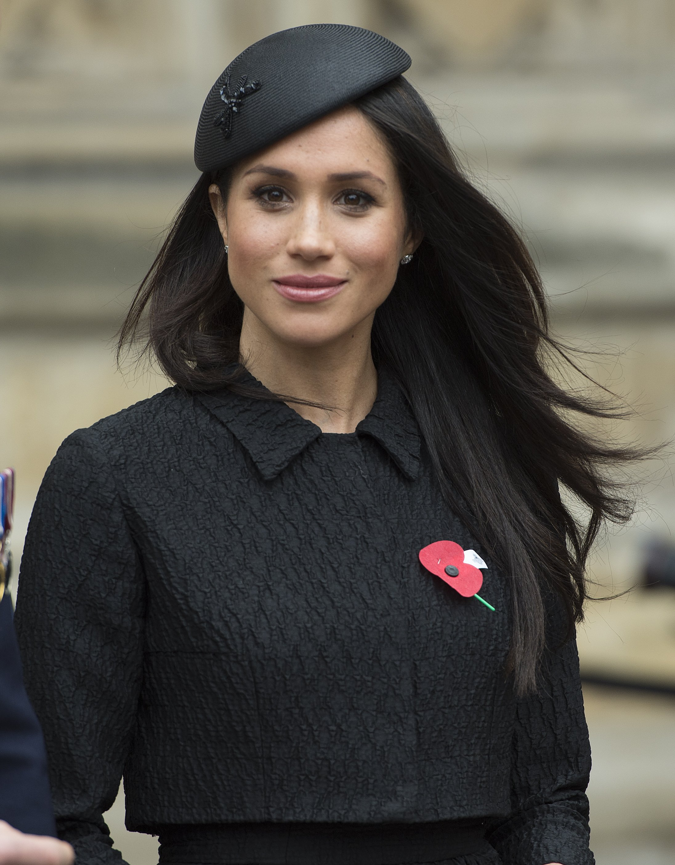 Image Credits: Getty Images / Eddie Mulholland - WPA Pool   Meghan Markle attends an Anzac Day service at Westminster Abbey on April 25, 2018 in London, England.