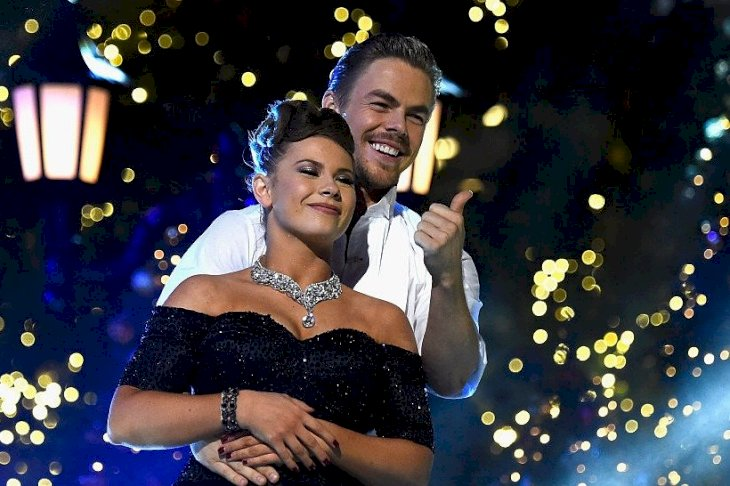 "Image Credit: Getty Images/Frazer Harrison | Bindi Irwin and Derek Hough in ABC's ""Dancing With The Stars"" Live Finale"