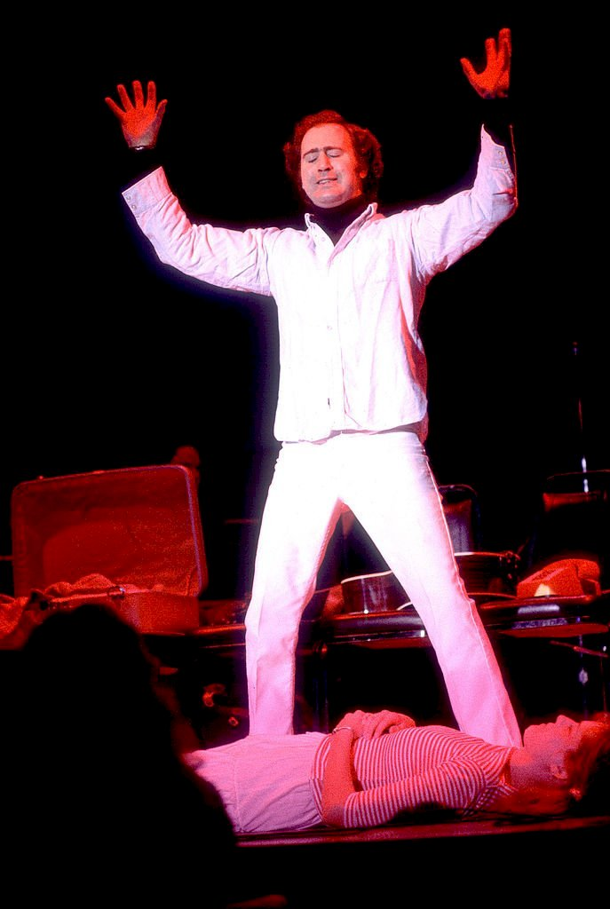 Image Credits: Getty Images / Comedian Andy Kaufman performs onstage in Chicago