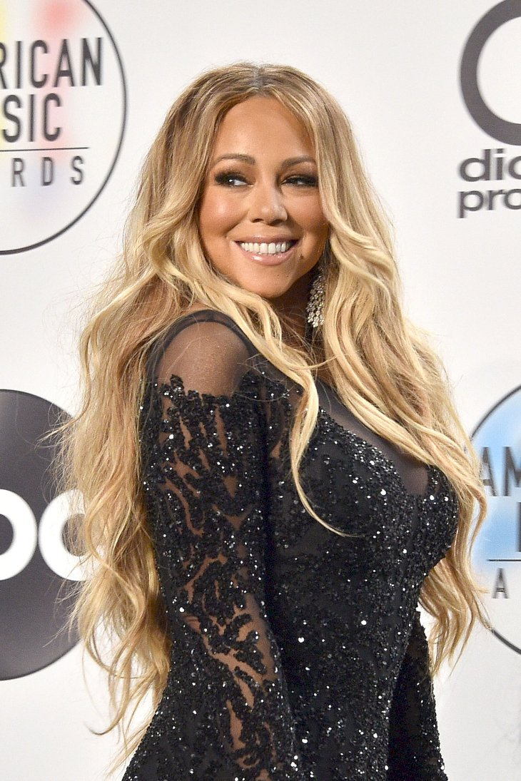 Mariah Carey attending the American Music Awards/Photo:Getty Images