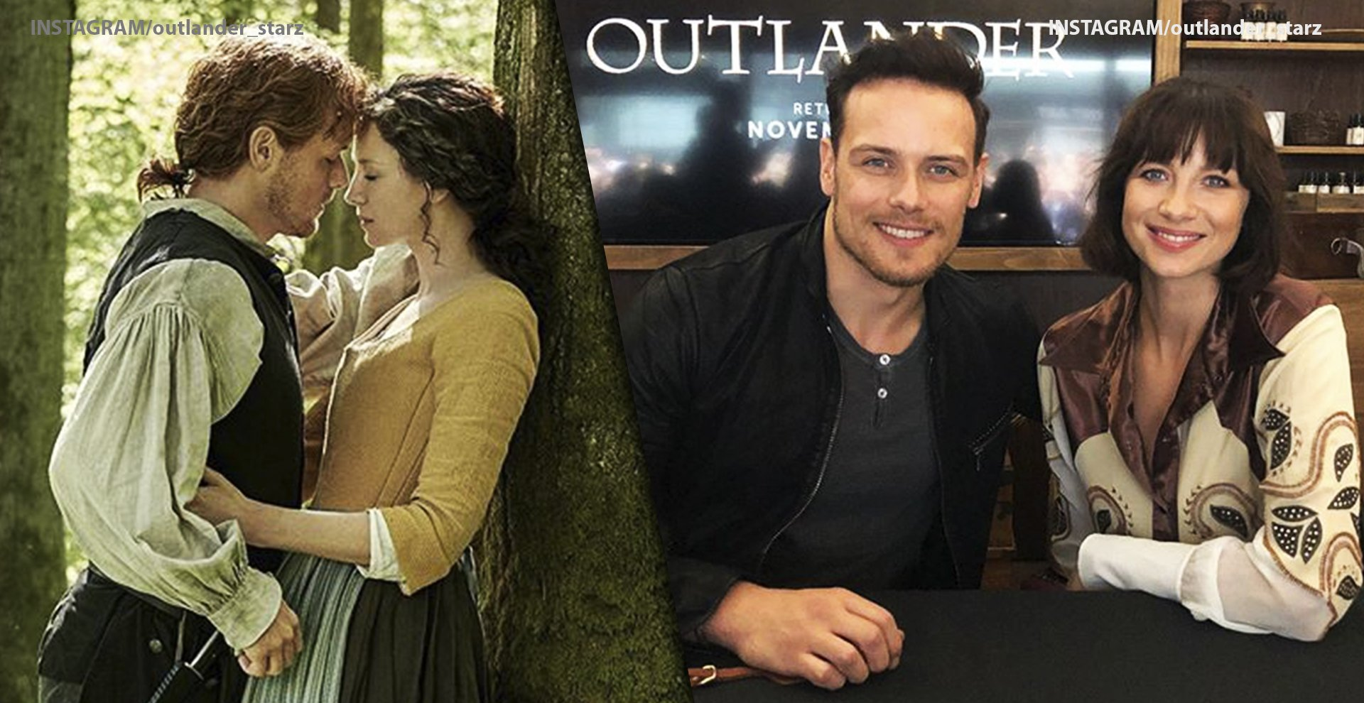 Outlander Cast's Real-life Partners