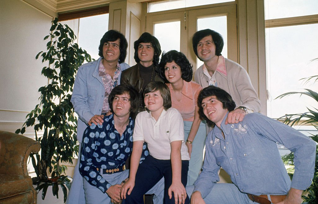 Image Credit: Getty Images / Family snap of the American pop group The Osmonds, circa 1975.