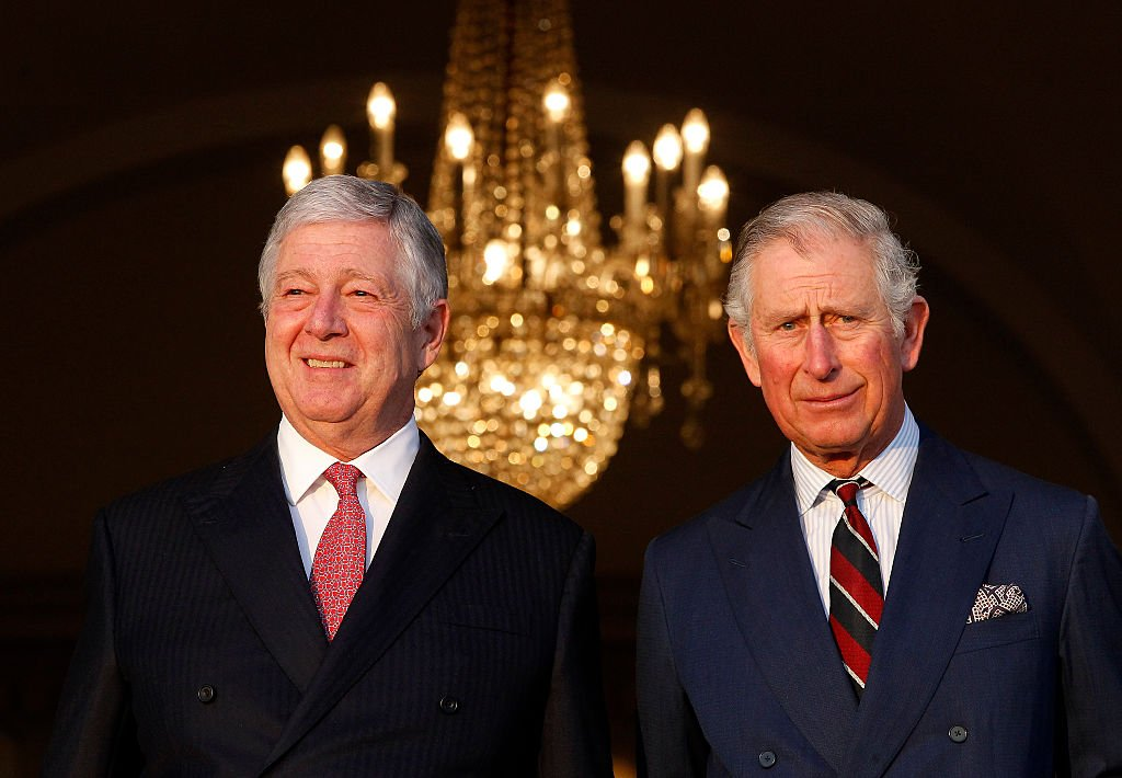 Alexander, Crown Prince of Yugoslavia with Charles, Prince of Wales | Image Source: Getty Images