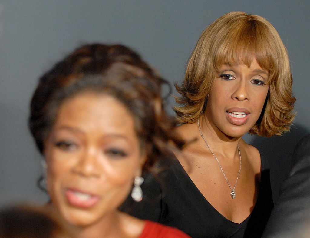 Image Credit: Getty Images / Oprah Winfrey and Gayle King during The Inauguration of The Hearst Tower at The Hearst Tower in New York City, New York.