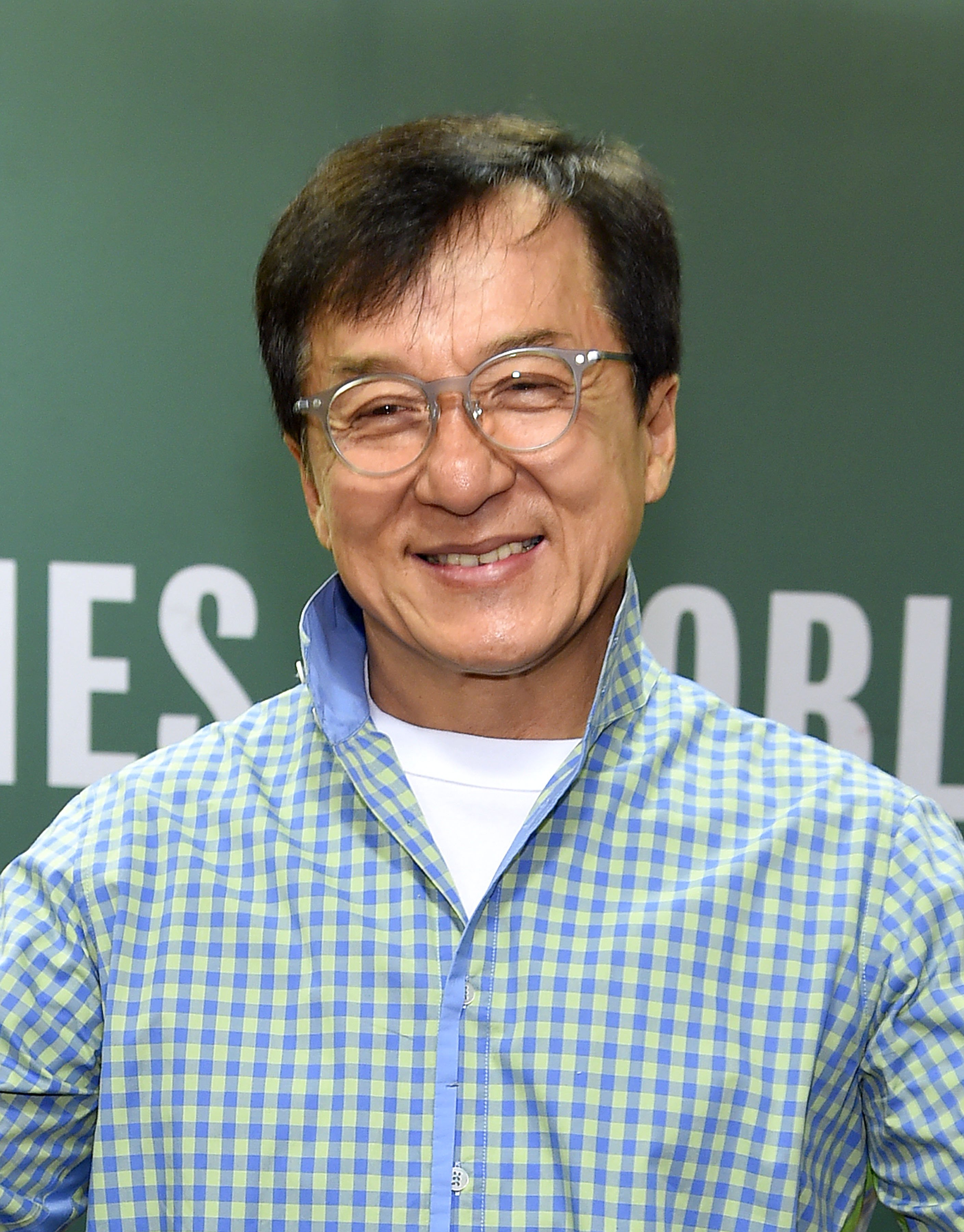 Image Source: Getty Images/Jackie Chan at an event