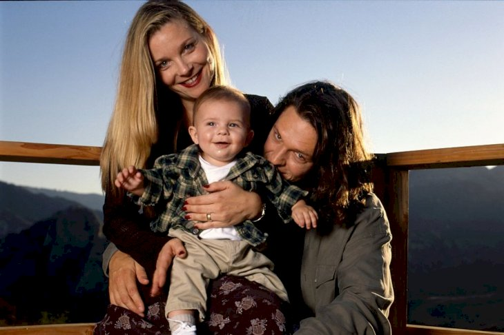 Image Credit: Getty Images/Hulton Archive/Ann Summa Jimmy McNichol and his wife Rene and son Tamar Nash in Topanga Canyon