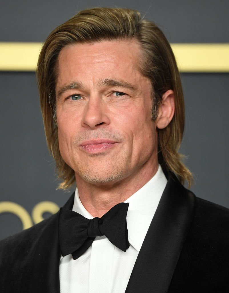 Image Credit: Getty Images/WireImage/Steve Granitz | Brad Pitt at the 92nd Annual Academy Awards Press Room