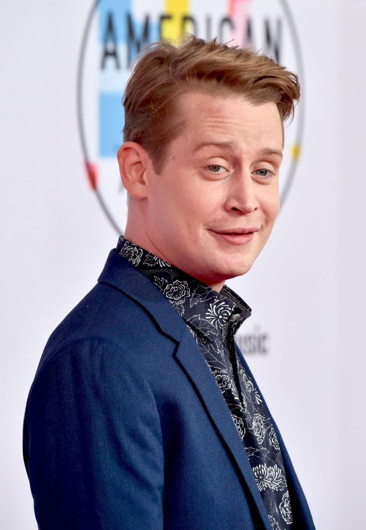 Macaulay Culkin attending the American Music Awards/Photo:Getty Images
