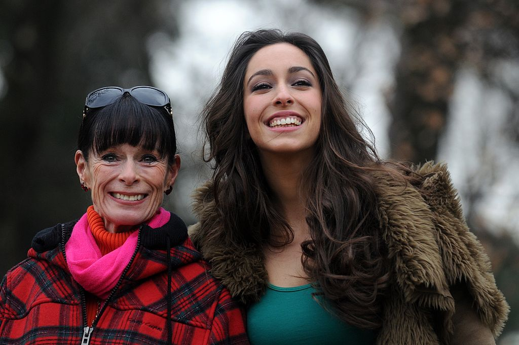 Image Credits: Getty Images | Oona and her mother Geraldine Chaplin