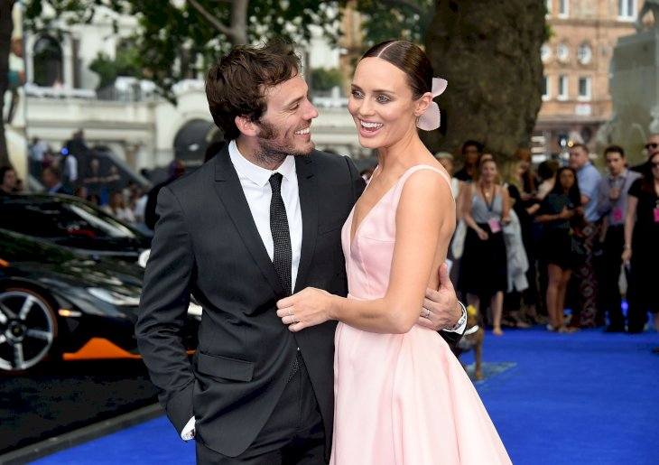 Sam Claflin and Laura Haddock / Photo:Getty Images